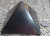 HAND POLISHED SHUNGITE PYRAMIDS #8