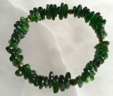 CHROME DIOPSIDE STRETCHY BRACELET #4