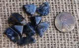 Pietersite Shapes and Tumbles