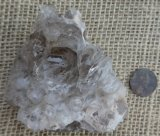 ALLIGATOR QUARTZ /JACARE QUARTZ (SMOKEY QUARTZ) CRYSTAL #13