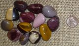 Mookaite Jasper Shapes and Tumbles