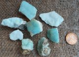 HEMIMORPHITE PIECES #1