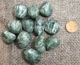 Seraphinite Shapes, and Tumbles