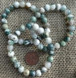 TREE AGATE STRETCHY BRACELETS #2