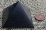 HAND POLISHED SHUNGITE PYRAMIDS #4