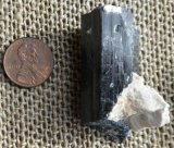BLACK TOURMALINE CRYSTAL (NAMIBIA) #27
