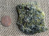 SPINEL AND VESUVIANITE IN MATRIX #14
