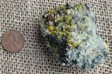 SPINEL AND VESUVIANITE IN MATRIX #16