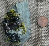 SPINEL AND VESUVIANITE IN MATRIX #17
