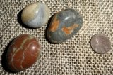 OREGON COASTLINE BEACH AGATE TUMBLES #1