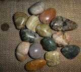 OREGON COASTLINE BEACH AGATE TUMBLES #2