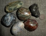 OREGON COASTLINE BEACH AGATE TUMBLES #3