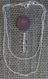 "STERLING SILVER 22"" BEAD CHAIN #2D"