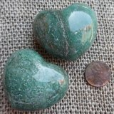 GREEN AVENTURINE HEARTS #4