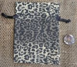 LEOPARD COTTON DRAWSTRING BAGS #7