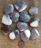 BLUE AGATE HEARTS #2
