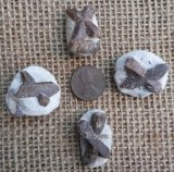 Staurolite/Faery Crosses (Red/Brown)