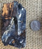 NOBLE SHUNGITE/ SILVER SHUNGITE/ELITE SHUNGITE CRYSTAL #26