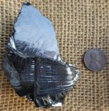 NOBLE SHUNGITE/ SILVER SHUNGITE/ELITE SHUNGITE CRYSTAL #23