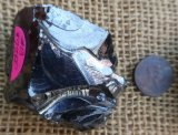 NOBLE SHUNGITE/ SILVER SHUNGITE/ELITE SHUNGITE CRYSTAL #13