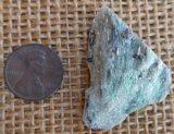 FUCHSITE AND BLUE KYANITE (ROUGH) #2