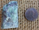 FUCHSITE AND BLUE KYANITE (ROUGH) #5