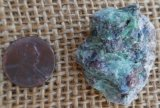 FUCHSITE AND BLUE KYANITE (ROUGH) #6