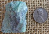 FUCHSITE AND BLUE KYANITE (ROUGH) #7