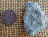 FUCHSITE AND BLUE KYANITE (ROUGH) #16