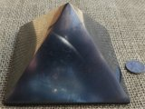 HAND POLISHED SHUNGITE PYRAMIDS #15