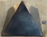 HAND POLISHED SHUNGITE PYRAMIDS #17