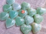 BLUE/GREEN CALCITE HEARTS #7