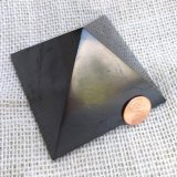 HAND POLISHED SHUNGITE PYRAMIDS #12