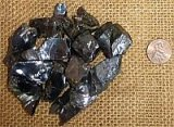 NOBLE SHUNGITE/ SILVER SHUNGITE/ELITE SHUNGITE CRYSTALS #4