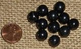 SHUNGITE BEAD SETS (TYPE II) (11 BEADS)--10MM ROUND #5