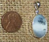 STERLING SILVER MERLINITE PENDANT #9
