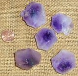 AMETHYST HOURGLASS CRYSTALS #25