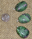 Ruby in Zoisite/Anyolite Jewelry
