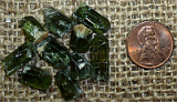GREEN DIOPSIDE CRYSTALS #9