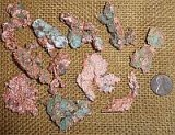 Copper--Shapes and Tumbles