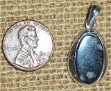 STERLING SILVER COVELLITE PENDANT #8