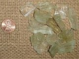 YELLOW/GREEN KUNZITE CRYSTALS #4