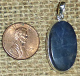 STERLING SILVER SODALITE PENDANT #7