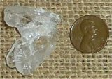 CLEAR QUARTZ TABULAR CRYSTAL #19