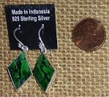 STERLING SILVER MAWSITSIT EARRINGS #11
