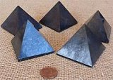 HAND POLISHED SHUNGITE PYRAMIDS #6