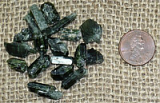 GREEN DIOPSIDE CRYSTALS #2