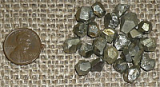 GOLDEN PYRITE DODECAHEDRONS #3