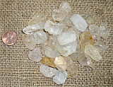 CLEAR/WHITE TOPAZ CRYSTALS (BRAZIL) #4