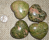 Unakite Shapes and Tumbles